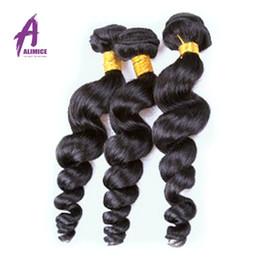 Ali Moda Best Malaysian Loose Wave 7A Grade Rosa Hair Products Malaysian Loose Wave 4 Bundles Malaysian Hair Weave Bundles