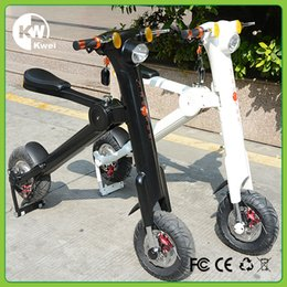 Wholesale Foldable mini e scooter bicycle new product hottest e scooter for adult and youngster shipping from USA