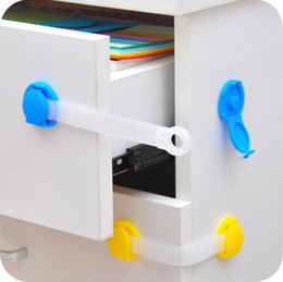Wholesale baby Safety Drawer Locks Baby Cabinet Lock child Care Products Baby Safety Door Drawer Lock CYC6