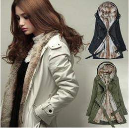 Wholesale Cheap Wholesale Women Coats - 2016 Winter Korean Clothes for Women Coats Women's Warm Thick Female Woolen Coat Long Section Cashmere Coat Cheap Chinese Coats