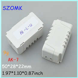 szomk boxes for circuit electronics (20 pcs) 50x28x22mm abs enclosure for pcb plastic junction box abs enclosure, small LED project box