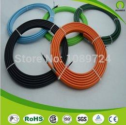 Cable calefactor techo en venta-Al por mayor-TIENDA PROMOCIÓN 220V 35 metros 25W / M 12MM Tubo de descongelación Techo y Gutter Deshielo Freeze Autoprotección Regulación cable Calefacción