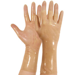 yellow dress gloves description