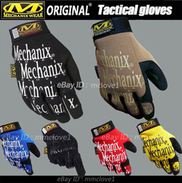Wholesale-New MECHANIX Wear Original work Gloves Mechanic gloves Motorcycles Moto racing gloves Free shipping