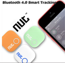 Wholesale Nut Anti lost alarm network Wireless Bluetooth Key Finder Smart Bluetooth anti lost tag smart tag Tracer for iPad Air iPad mini iPhone s
