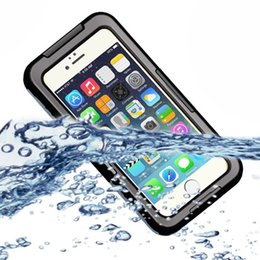 New Waterproof Case Diving Underwater Watertight Cover For Apple iPhone 6 4.7inch Hard PC+TPU Full Clear Waterproof