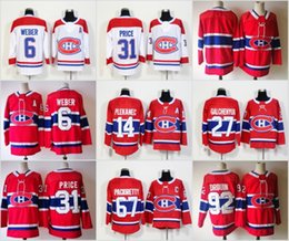 2018 Montreal Canadiens Carey Price Shea Weber Jonathan Drouin Lehkonen Alex Galchenyuk Drouin Pacioretty Shaw Gallagher Plekanec Jerseys