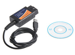 Wholesale ools Maintenance Care Code Readers Scan Tools New store Promotion ELM327 USB Diagnostic Scanner Years Warranty OBD OBDII Scanner EL