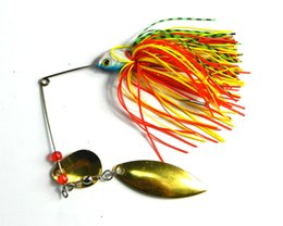 HENGJIA 4pcs lot 19.8G 0.7oz spinner bait fishing lure spoons Fresh Water Shallow Water Bass Walleye Minnow LURES SB008