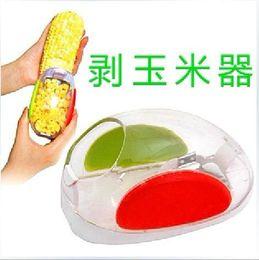 Wholesale Hot Sale Kitchen Necessary Helper Easy Peel One Step Corn Kerneler Stripper Peeler Remove Corn Separator