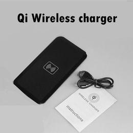 2017 chargeur lumia Transmetteur sans fil Chargeur gros-Qi Charging Pad pour Samsung S5 S6 S4 REMARQUE2 iPhone Lumia 920 téléphone intelligent chargeur lumia autorisation