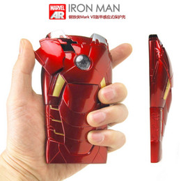 Wholesale 3D Iron Man hero Case Protector For Iphone G S Supper cool D IRONMAN Design With Tracking Number