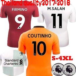 Liverpooling soccer Jerseys 2017 2018 Football Shirt Mane COUTINHO LALLANA FIRMINO Lucas Sturridge shirts Football Jersey 17-18 camisetas