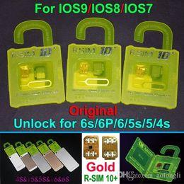 NEWEST R-SIM10 plus RSIM 10+ R SIM R-SIM10+ For iphone 6S 6 plus 5S 5C 5G 4S IOS9 IOS 9 9.1 GSM CDMA WCDMA 4G 3G 2G unlock sim R 11 10+