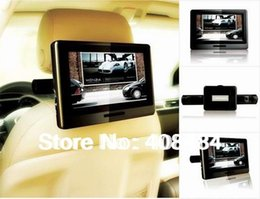 Wholesale 9 Inch Headrest Monitor Car DVD Player Portable DVD Player Bit Game Retail Pc