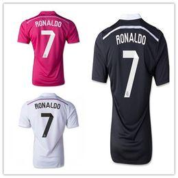 Wholesale Customized Thai Quality Reals Madrid RONALDO Champions League Dragon Soccer Jerseys Football Jersey shirts Popular Soccer Jersey