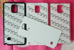Wholesale For Samsung galaxy note DIY Heat Press Hard Plastic sublimation print case aluminium plate custom photos