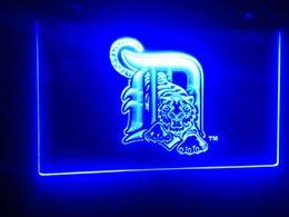 Wholesale b Detroit Tigers MLB Baseball team logo LED Sign Neon Light Sign Display