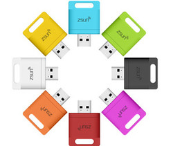 Wholesale Zsunmini usb driver wifi pen drive card reader for IOS and android phone