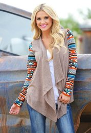Wholesale New Aztec sleeve women Cardigan Female Long Asymmetrical Knitted Sweater casual Cardigans Sweaters Air conditioning Shirts NSY31