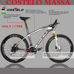 Wholesale New Arrival COSTELO MASSA Full Carbon MTB Bike better LOOK Bicycle complete er er mountain bike Carbon mtb bike frame