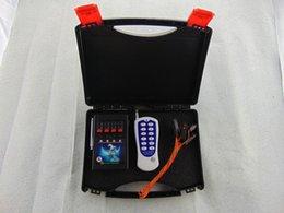 Promotion les types d'incendie mode de tir du programme 4 Fireworks EMETTEUR Chaîne système de tir de sécurité allumage Radio feu taille de type affichage électronique à distance de fil
