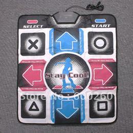 Nueva alfombra de baile antideslizante Bailar la danza del paso Juego esteras de la estera del cojín para PC dropshipping el envío libre # 8323 desde estera de baile juego de pc fabricantes