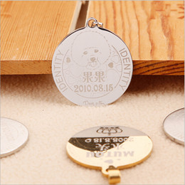 Wholesale-Goods For pets! Custom Dog Identification Tag Personalized Engraved Dog Pet ID Tag Free Shipping