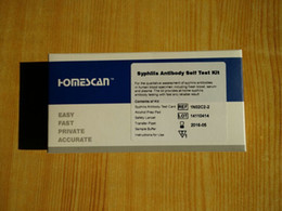 Wholesale Pieces One Step Anti Syphilis Test for Personal Home Use Homescan Syphilis Antibody Blood Test Kit