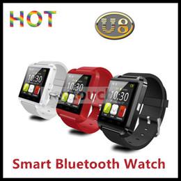 Wholesale XB Smart phone U8 Smart Watch With altimeter sleep monitor alarm pedometer barometer calculator For S Samsung S5 NOTE htc Andriod Phone