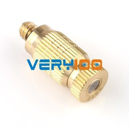 Wholesale 10pcs High Pressure Brass mm Male Threaded Fog Mist Nozzle Fogging Spray Head order lt no track