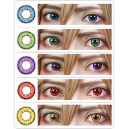 Wholesale Bella Cosplay Super Colored Cosmetic Eye Contacts Colorful Lenses