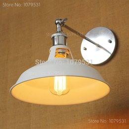 Wholesale American Style Vintage Wall Lamp Bedroom Bedside Light Lighting Loft Wall Lamp Free Shipping