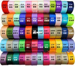 Wholesale Fashion Hot yards quot single face satin ribbon mm ribbons tape mix colors