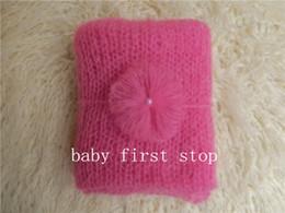 Wholesale newborn photography props wrap mohair wrap suit size X45cm