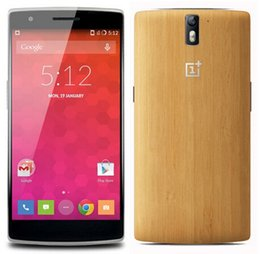 Wholesale 1 OnePlus One JBL Bamboo Edition G LTE Snapdragon GHz GB GB inch Mobile Phone Android KitKat FHD OTG MP Smart Phone
