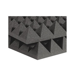 Wholesale Fireproof High Density Studio Soundproof Acoustic Pyramid Foam