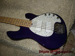 Guitars Purple 5 strings Music Electric Bass High Quality From China HOT