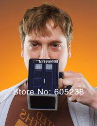 Doctor Who: Tardis Mug Ceramic Mug With Removable Lid Cup