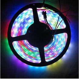 5M numérique RGB WS2811 Bande LED 5050 SMD étanche IP67 IP68 adressable WS2811ic DC12V 30/48/60 Pixels Rêve Couleur à partir de ip68 conduit bandes lumineuses fabricateur