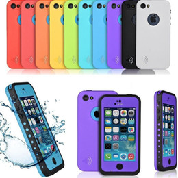 Newest waterproof dirt proof shockproof case for apple iphone 5C Waterproof Case Cover with retail package cellphone case