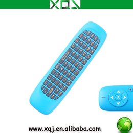 Wholesale Computer Mini USB Laser Keyboard Air Mouse Full Qwerty Aixes Gyroscope For Lectures Meeting Training