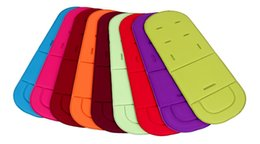 Child Car Seat Cushion Pushchair,Liner Padding Pram Baby Kids Stroller Cushion,7 Optional Color,New Stroller Cushion Pad