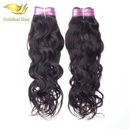 Hot selling 1pc Natural Wave Brazialian virgin hair Malaysian Peruvian Indian Mongolian human hair top quality unprocessed hair extensions