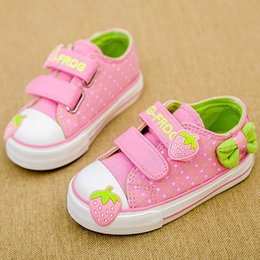 New 2015 Spring Autumn Children Shoes Girl Sneakers Kids Canvas Shoes Size 21 - 25