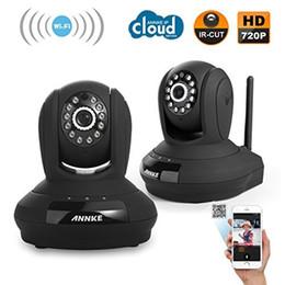 Sécurité facile en Ligne-Annke® Home Security 1280 x 720P HD CCTV Caméra IP réseau sans fil Installation facile Home Remote Monitoring System (2 PACK)