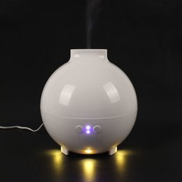 600mL Ultrasonic Air Humidifier Atomizing Anion Electric Aroma Diffuser Aromatherapy Air Humidifier Mist Maker for Home