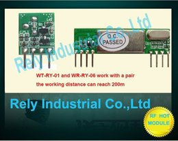Wholesale Wireless RF Receiver and transmitter WT RY WR RY