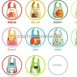 Wholesale Hot Sale Translucent Leak Proof Bib With Soft Comfort Colorful Fabric Material Baby Bib BT40919