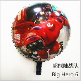 Wholesale 2015 color cm baymax Big Hero cartoon balloon aluminum film Party Foil Balloons BIRTHDAY PARTY SUPPLIES gift toy TOPB2378